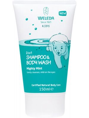 WELEDA 2 In 1 Shampoo & Body Wash Kids - Mighty Mint 150ml