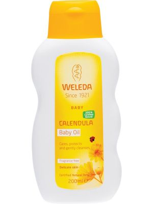 WELEDA Calendula Baby Oil Fragrance Free 200ml