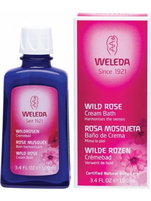 WELEDA Cream Bath Wild Rose 100ml