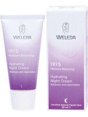 WELEDA Hydrating Night Cream Iris 30ml