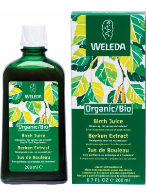 WELEDA Organic/ Bio Birch Juice Liquid Food Supplement 200ml