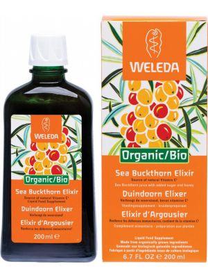 WELEDA Organic/ Bio Sea Buckthorn Elixir Liquid Food Supplement 200ml