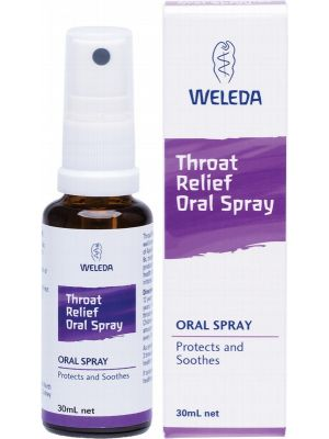 WELEDA Throat Relief Oral Spray Oral Liquid 30ml