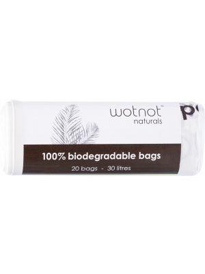 WOTNOT Biodegradable Bags 30L 20