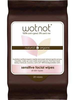 WOTNOT Facial Wipes Normal 25 pack