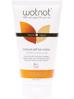 WOTNOT Natural Self-Tan Lotion Medium Golden Tan 150ml
