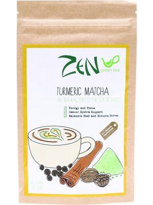 ZEN GREEN TEA Turmeric Matcha Tea Powder 60g