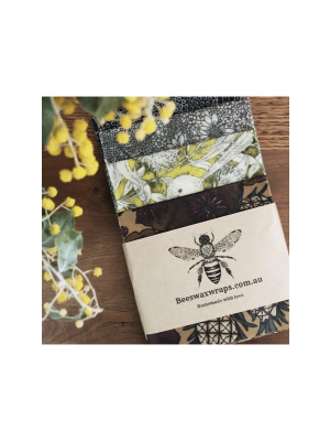 Beeswax Wraps Bread Lovers XL 4 Pack