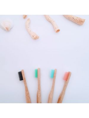 Bamboo Toothbrush Soft Bristles (4 pack)