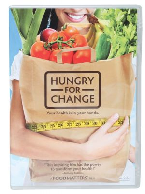 Hungry For Change - The Movie Your Health Is In Your Hands 89 min DVD