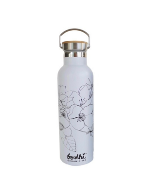 Bodhi ECO Stainless Steel Flask White 750ml