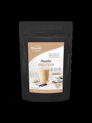 Morlife Plantiful Protein Vanilla Fudge 500g