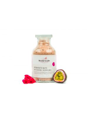 Harvest Garden Rose Geranium + Passionflower Epsom Bath Salt