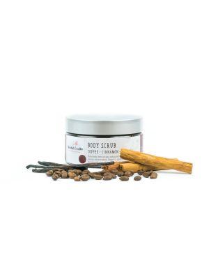 Harvest Garden Coffee Cinnamon Vanilla Body Scrub 240g