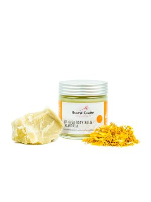 Harvest Garden All Over Body Balm + Calendula Full Size 110g Jar