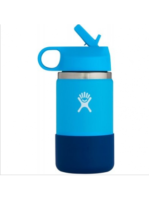 HYDRO FLASK Wide Mouth Kids - Straw Lid Double Insulated - Pacific 355ml