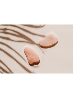 Rose Quartz Gua Sha Skin Contouring Stone