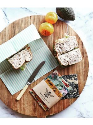 Beeswax Wraps Lunch Snak 5-pack
