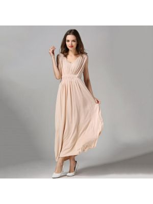 Empire Waist Maxi Gown Nursing Maternity Evening Dress