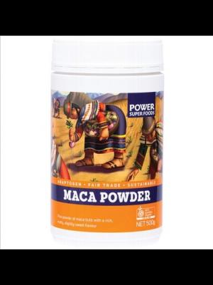POWER SUPER FOODS Maca Maca Power - Powder 500g