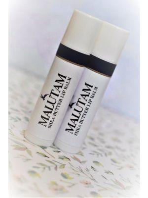 Malutam Shea Butter Lip Balm 5g x 2