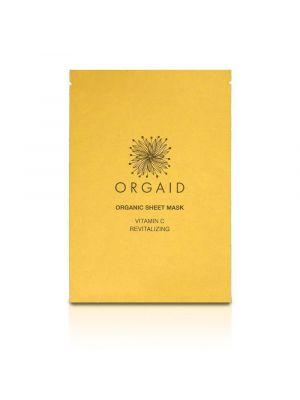 ORGAID Organic Sheet Mask Vitamin C & Revitalizing 24ml
