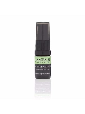 James St Organics Overtime Night Serum - Rosehip Oil & Raspberry Extract Mini Size 5ml
