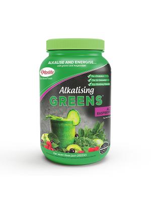 Morlife Alkalising Greens® Acai Raspberry 1kg Jar