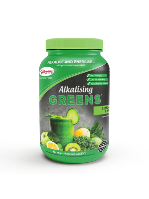 Morlife Alkalising Greens® Lemon Lime 1kg Jar