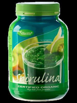 Morlife Spirulina Powder Certified Organic 1kg