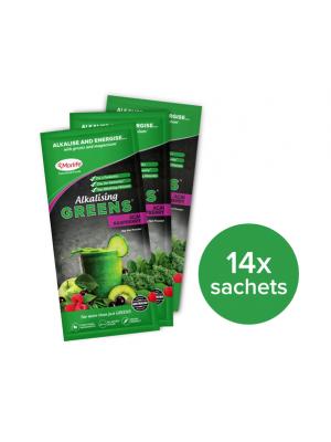 Morlife Alkalising Greens® Acai Raspberry 14x10g Handypack