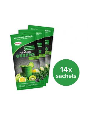 Morlife Alkalising Greens® Lemon Lime 14x10g Handypack