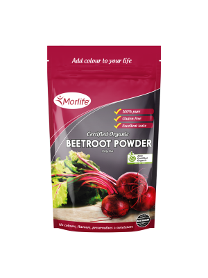Morlife Beetroot Powder Certified Organic 150g