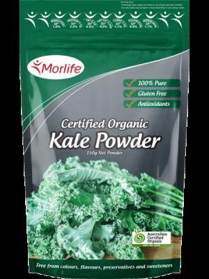 Morlife Kale Powder Certified Organic 150g