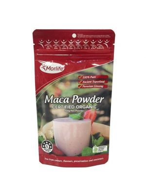 Morlife Maca Powder Certified Organic 100g