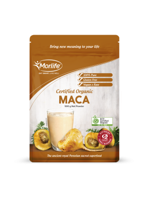 Morlife Maca Powder Certified Organic 500g