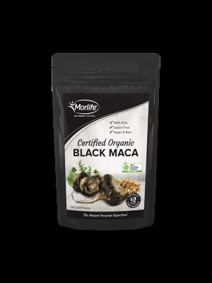 Morlife Black Maca Powder Certified Organic 100g