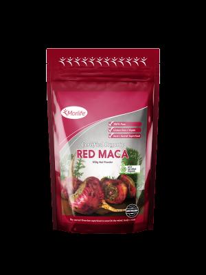 Morlife Red Maca Powder Certified Organic 100g