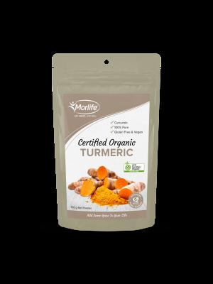Morlife Turmeric Powder Certified Organic 150g