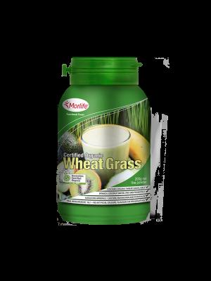 Morlife Wheat Grass Certified Organic 200g