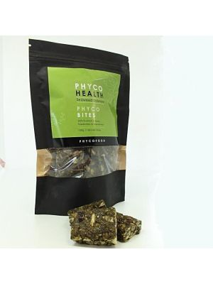 PHYCOBITES - versatile seaweed rich snack for the road, sports energy or gourmet with feta cheese