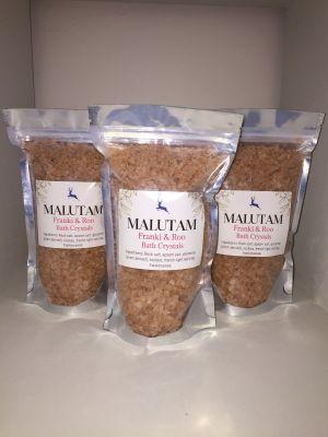 Malutam Frankie & Roo Bath Crystals 500g