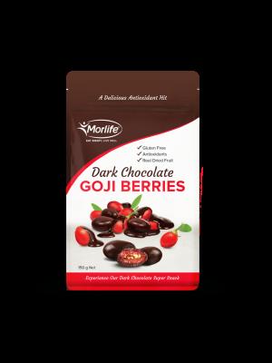 Morlife Dark Chocolate Goji Berries 150g