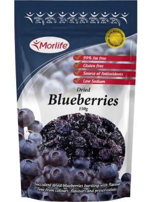 Morlife Dried Blueberries 150g