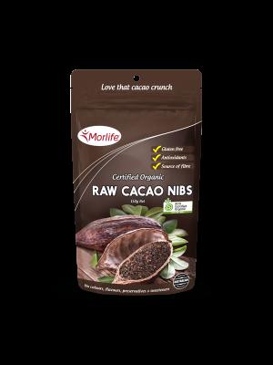 Morlife Cacao Nibs Organic 150g