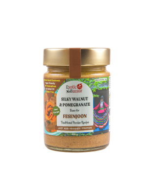 Fesenjoon - Silky Walnut & Pomegranate - Exotic Bazaar