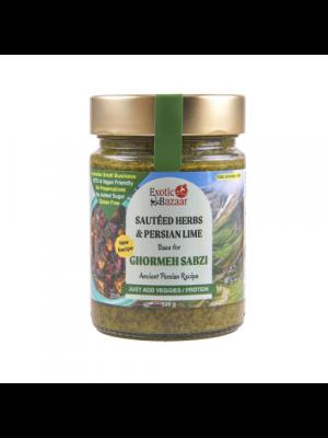 Ghormeh Sabzi - Sautéed Herbs & Persian Lime - Exotic Bazaar