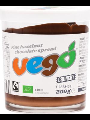 VEGO Hazelnut Chocolate Spread Crunchy 6x200g