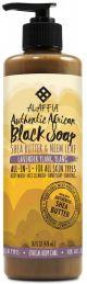ALAFFIA Lavender Ylang Ylang Black Soap 475ml