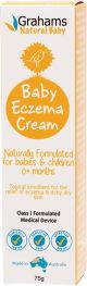 GRAHAMS NATURAL Baby Eczema Cream For Babies And Children 75g